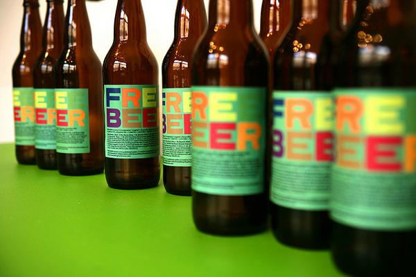 Free Beer CC by-sa AGoK