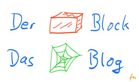 der Block - das Blog