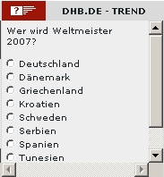 DHB-Trend