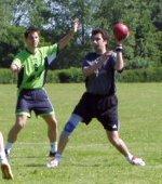 Das Bild zeigt mich in Aktion beim Kieler Woche Turnier 2005