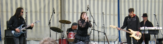 Lady Chaos live on Stage