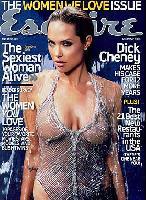 Esquire-Titelbild mit Angelina Jolie