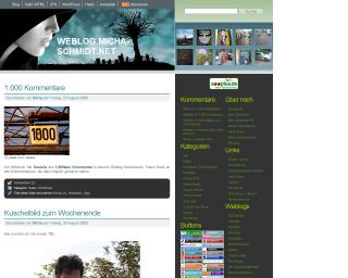 Screenshot von Weblog.Micha-Schmidt.net
